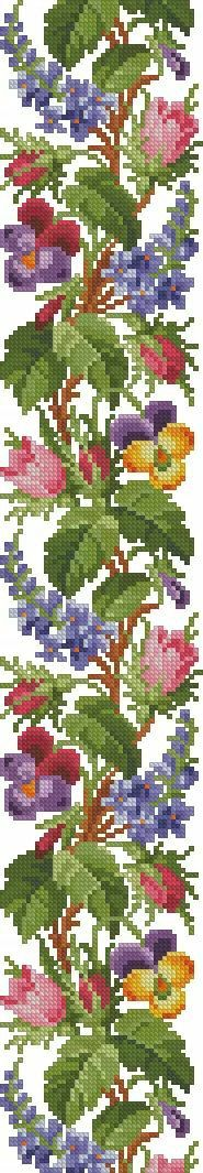 Cross Stitch Rose, Cross Stitch Designs, Embroidery Designs, Kids Rugs, Crochet, Stitches, Cross Stitch Owl, Nail Arts, Cross Stitch Embroidery