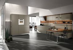Exclusive WAY Kitchens with cool lighting