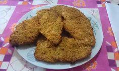 Cotolette di pollo impanate al forno