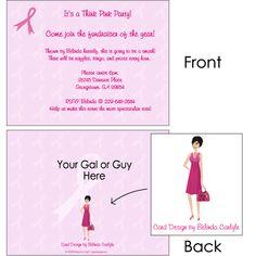 http://www.designhergals.com - Breast Cancer Awareness Card