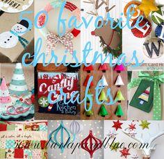 50 favorite christmas crafts