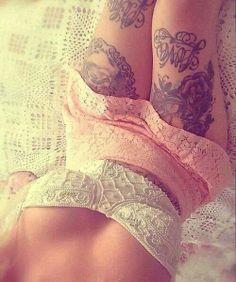 Sexy tattoos.