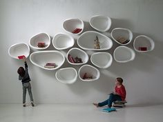 FAVO Organic Wall Shelves by imperfettolab                                                                                                                                                                                 More