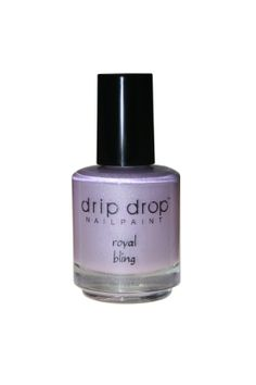 """""""Royal bling"""" is a light purple holo polish. Gorgeous in the sunshine. Swatch shown is 2 coats, no topcoat.  Available in full size (15ml) Limited supply. This is a 3-free handmade nail lacquer"""