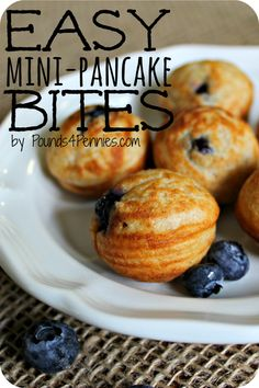 Easy Pancake Bites by Mainly Homemade