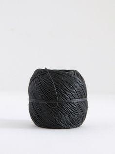 SUPPLY PAPER CO. | hemp twine ball - black