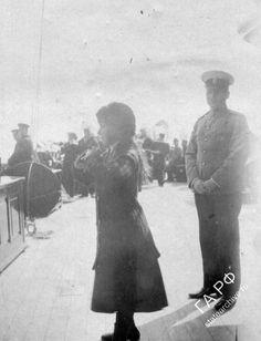 "otmacamera:  ""Anastasia Nikolaevna onboard the Standart, 1912  """