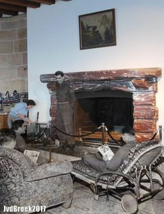 Soldiers relaxing before the fireplace of the Eagles nest, Obersalzberg at the end of World War II. Then image: Now image: Then in Now, Cor Sleutel Eagles, Germany Area, Band Of Brothers, History Facts, Military History, World War Two, Historical Photos, Wonderful Places, Old Photos