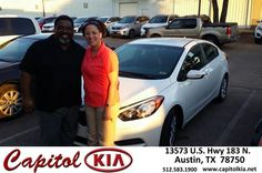 Congratulations to Rhondolyn Williams on your #Kia #Forte purchase from Susan Idais at Capitol Kia! #NewCar