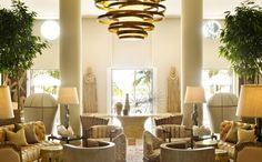 Interiors - Luxury Miami Hotels   Tides Hotel in South Beach  