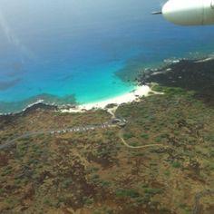 Kua Bay, one of my favorite beaches. Kona