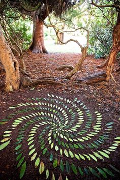land art by James Brunt