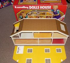 Old vintage Lundby Dolls House in excellent condition with box & mains charger | eBay