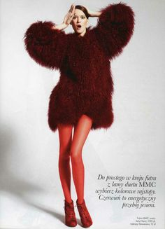 NUNC shoes at ELLE magazine