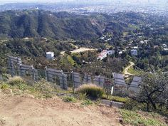 Hiking the Hollywood hills.
