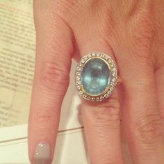Stone Fox Rings - aquamarine engagement ring