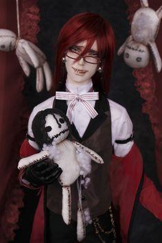 Black Butler: Book of Circus Grelle Sutcliff Cast Doll 1
