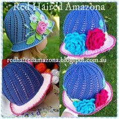 http://redhairedamazona.blogspot.com.au/2015/03/russian-little-girls-cloche-hat-pattern.html