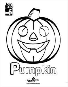 Halloween is approaching quickly!  Start celebrating now with USA Kids' Jack-O-Lantern coloring sheet.