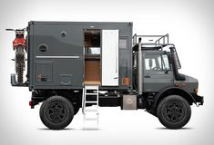 "rhubarbes: "" Bliss Mobil Expedition Vehicle via Megadeluxe """