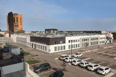 edificio vista dall'alto dopo il restyling