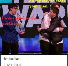 Lol although I don't ship them romantically BROTP 4 lyf<<<< XD, that's a funny joke. Youtube Names, Phan Is Real, Just Good Friends, Dan And Phill, Danisnotonfire And Amazingphil, Fandoms, Phil Lester, Dan Howell, Nick Jonas