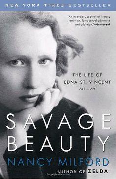 Savage Beauty: The Life of Edna St. Vincent Millay by Nancy Milford,http://www.amazon.com/dp/0375760814/ref=cm_sw_r_pi_dp_PwQnsb1E95MXZNYJ
