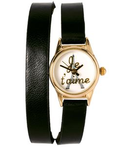 Je t'aime cette montre!  (or, I love this watch!)
