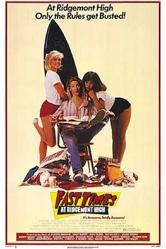 Fast Times At Ridgemont High movie posters at movie poster warehouse movieposter.com