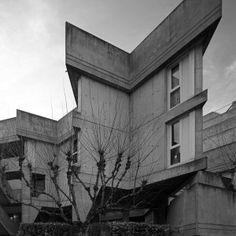 Scott Benedict captures the raw concrete of the Cité Rateau housing estate in Paris