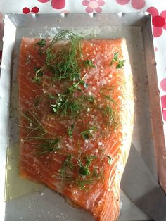 Salmon ready for bbq