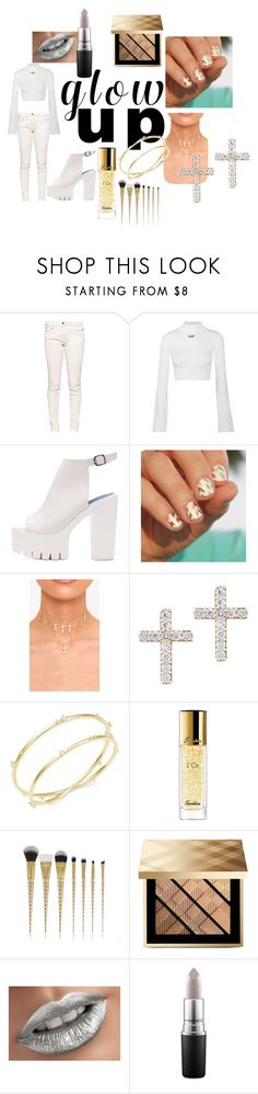 """""""Mercy!!!!"""" by turquoisesnow123 on Polyvore featuring Great Plains, Off-White, SoGloss, Lana, Nadri, Guerlain, Burberry and MAC Cosmetics"""