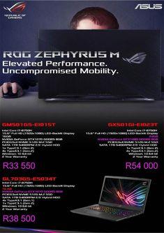 ASUS ROG Zephyrus M Laptops