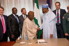 nodullnaija: Obasanjo meets with buhari in Aso Rock today