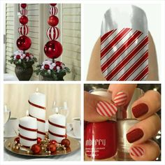 What could be more festive than Candy Cane stripes! https://www.facebook.com/JamberrybyChelsea You can order your wraps @ http://www.cahern.jamberrynails.net #jamberry #jamberrynails #candycanejn