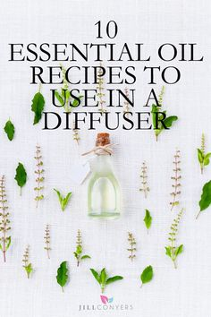 Whether you want to improve your mood, destress, energize or refocus there are literally 100s of essential oil blend combinations that can be used in a diffuser. Used aromatically, a diffuser works by breaking down the essential oil into micro molecules then disperses them into the air and fills a room or work space. Click the image and get the recipes at jillconyers.com.