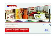 Edding e-1300/40 s Lot de 30 Feutres de coloriage à Pointe ogive 2 mm Couleurs Assorties Edding http://www.amazon.fr/dp/B0031RG2E2/ref=cm_sw_r_pi_dp_5dq-wb16HV5FK