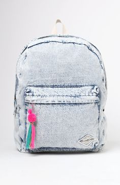 Sandy Trails Acid Wash Backpack