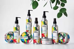 The packaging for Pari Satiss truly pops, stepping forward from the lineup  of other cosmetic products in the European market. Designed by Fabula  Branding, the nature-inspired elements highlight the natural and wholesome  ingredients included, like avocado and lavender.