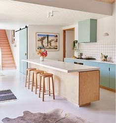 """Carr Street House by Emma Omeara Stylist: Barwo… Interior Design Inspiration, Home Interior Design, Interior Architecture, Australian Architecture, Interior Stylist, Kitchen Inspiration, Kitchen Interior, Kitchen Decor, Küchen Design"