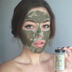 """When beauty meets masking Hear why @claudiasofiaruiz is raving about her new Muddy mask """"Guys you have to try the Muddy Detox Clay Mask from @muddybody_ !! I tried it today for the first time and Im amazed by the results✨It unclogged my pores, since it contains charcoal,"""
