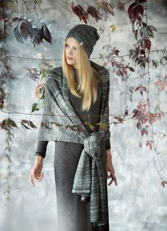 Alpaca linen charcoal gray and mint alpaca wool Wrap Scarf.  Beautiful and so useful.