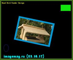 Wood Bird Feeder Design 153139 - The Best Image Search