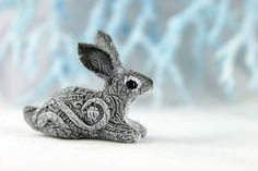 Hey, I found this really awesome Etsy listing at https://www.etsy.com/listing/202411031/bunny-rabbit-hare-animal-totem-sculpture
