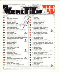 Music Charts, Top 40, Music Songs, Veronica, Household, Remedies, Van, Retro, Musica