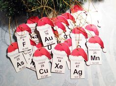 Add a scientific twist to your Christmas tree!