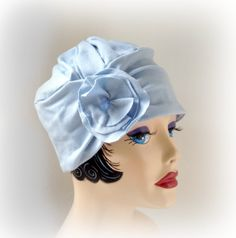 Hey, I found this really awesome Etsy listing at https://www.etsy.com/listing/125046370/flapper-style-cloche-the-evie-turban