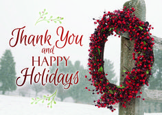 Simply Thankful Business Holiday Cards https://partyblock.holidaycardwebsite.com/holiday/christmas/NN6306 Thank You