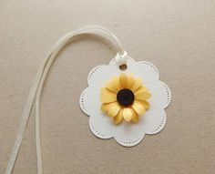 Sunflower thank you tags/Favor tags/Bridal shower