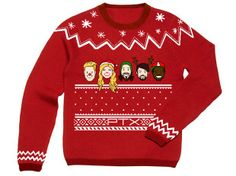 Create an 'ugly' Christmas sweater for Pentatonix
